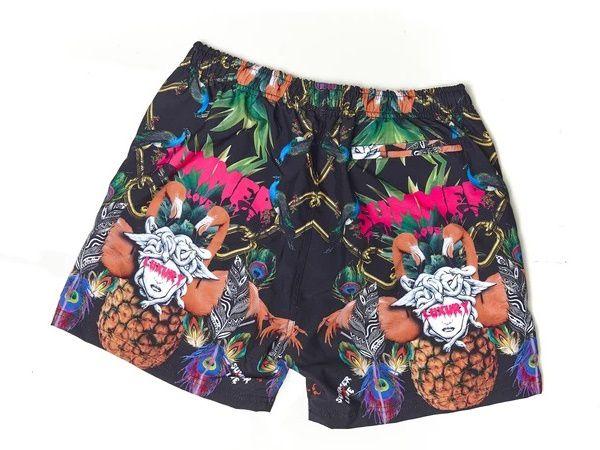 Short Toro de Praia Summer Love - Preto