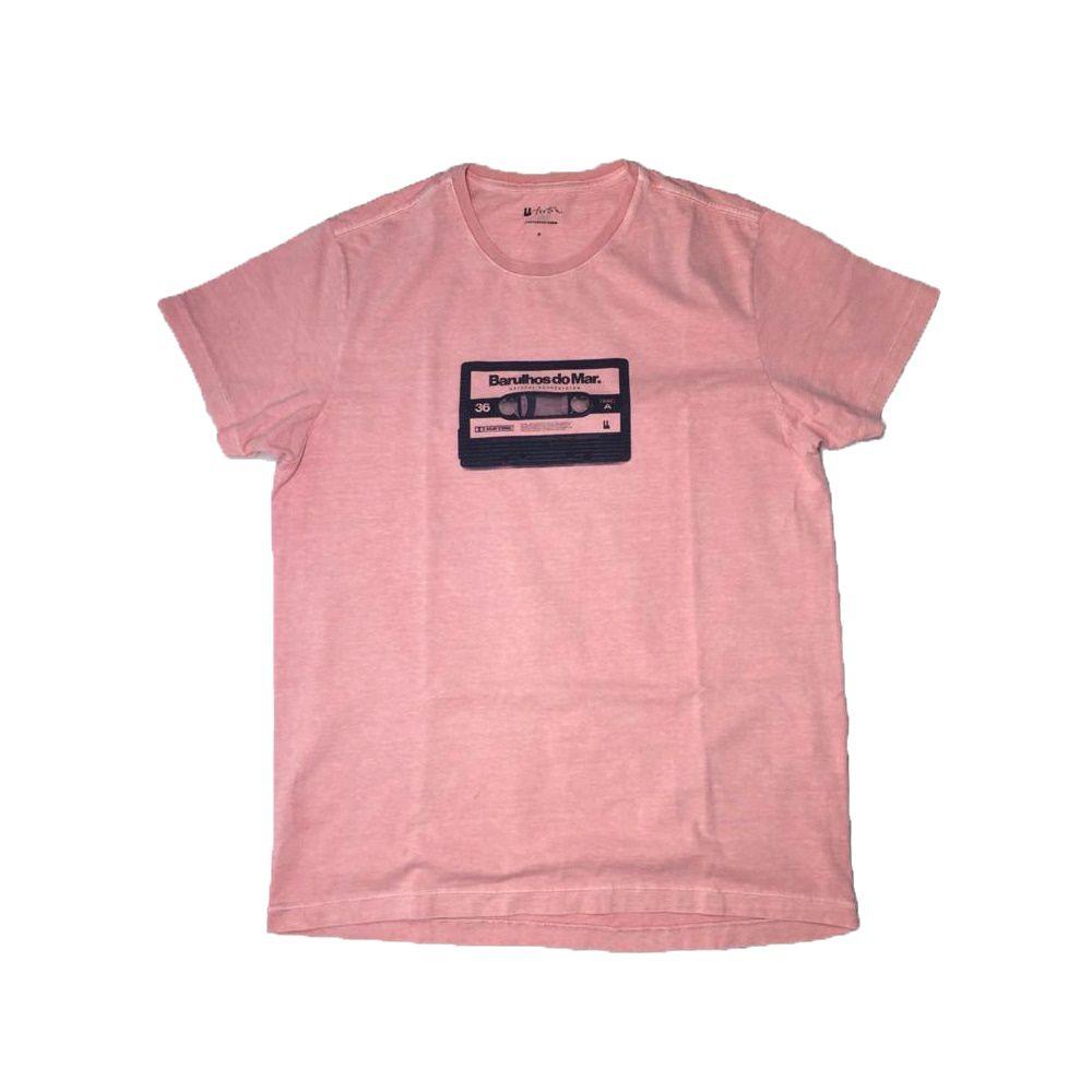 T-shirt Foxton Barulho do Mar - Rosa