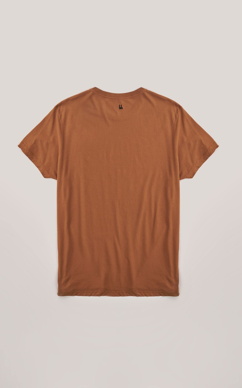 T-shirt Foxton Bierre - Caramelo