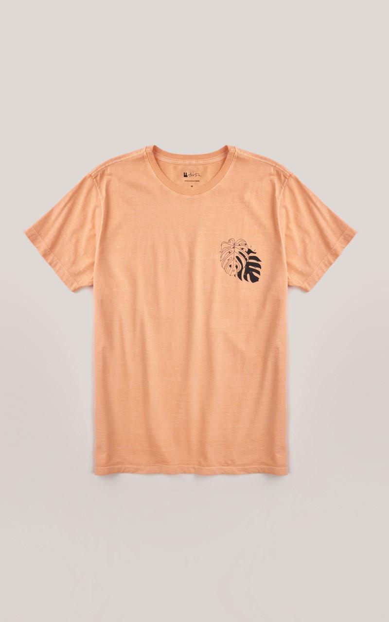 T-shirt Foxton Brasil Tropical - Coral