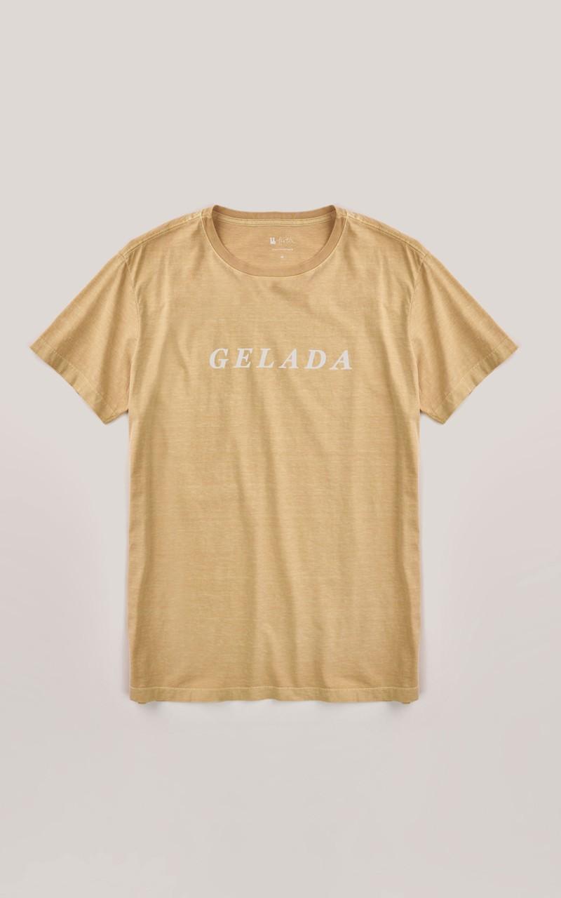 T-shirt Foxton Gelada  - Amarelo