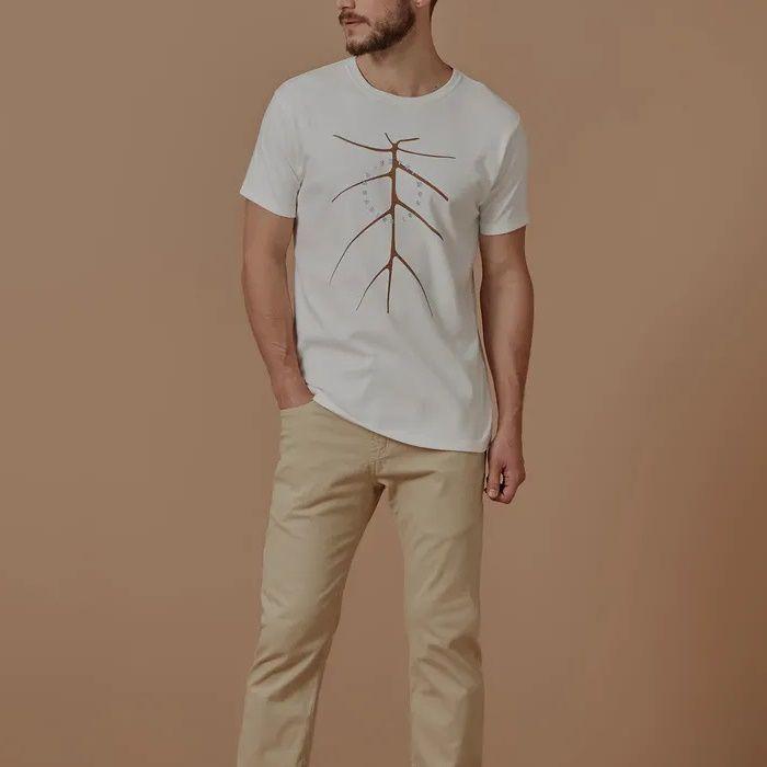 T-shirt Foxton Costela Paradise - Branca