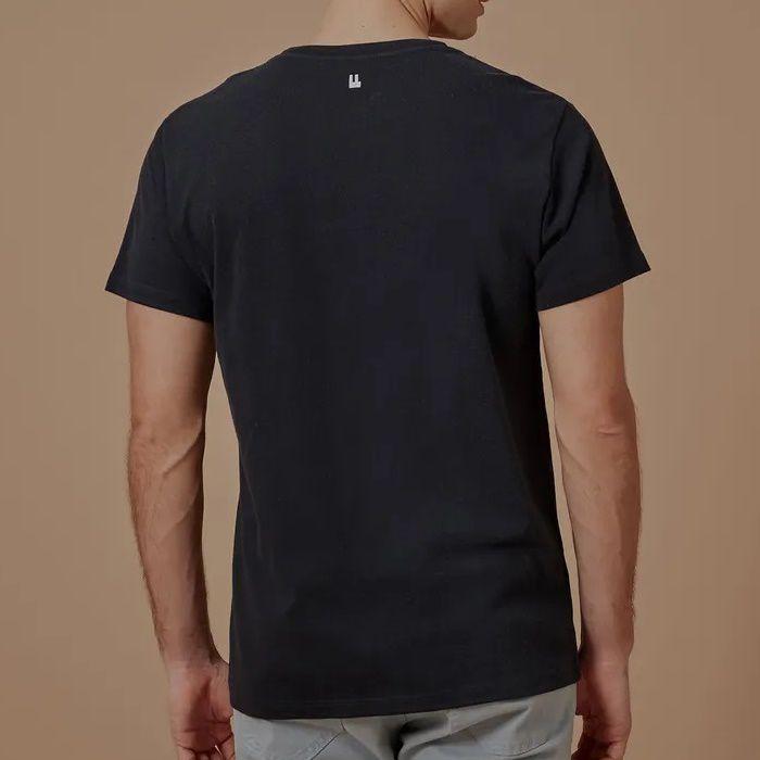 T-shirt Foxton Costela Paradise - Preta