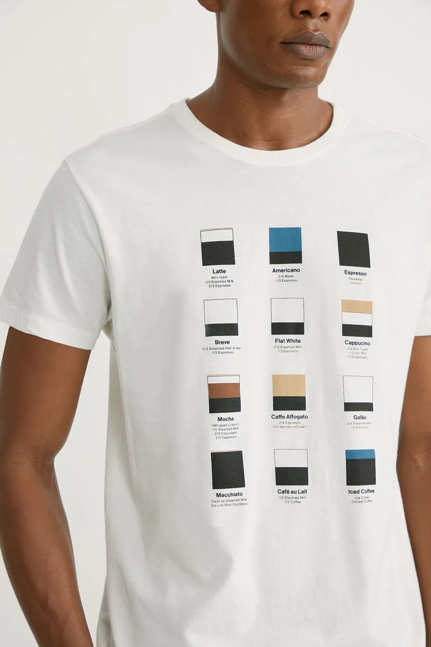 T-shirt Foxton Flavors - Off White