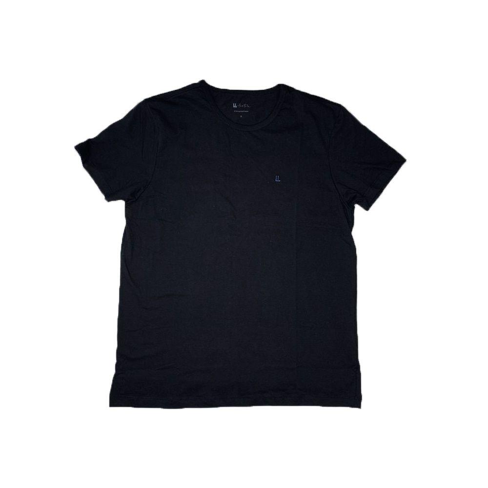 T-shirt Foxton Logo - Preta