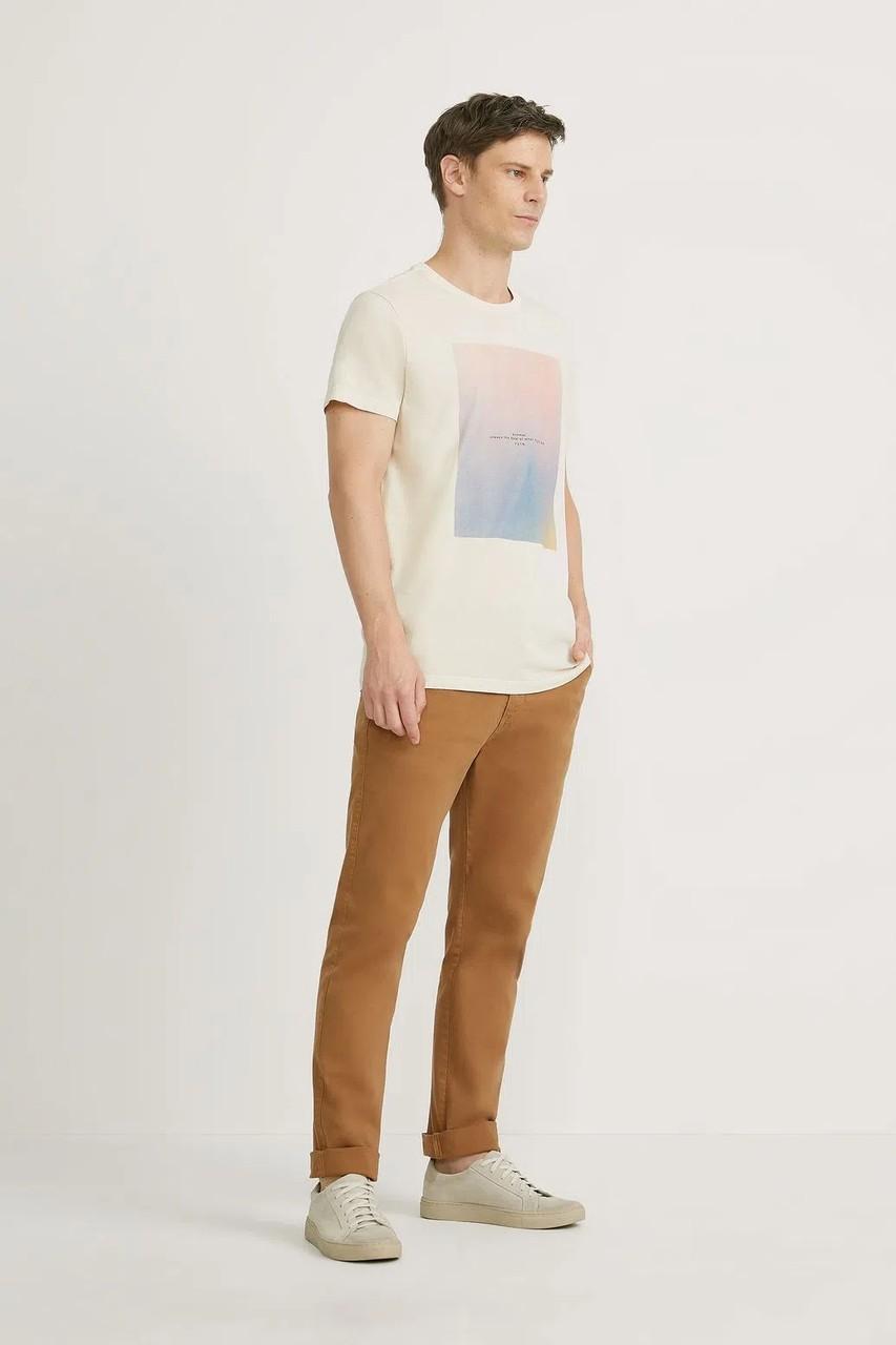 T-shirt Foxton Noise Sunset - Baunilha