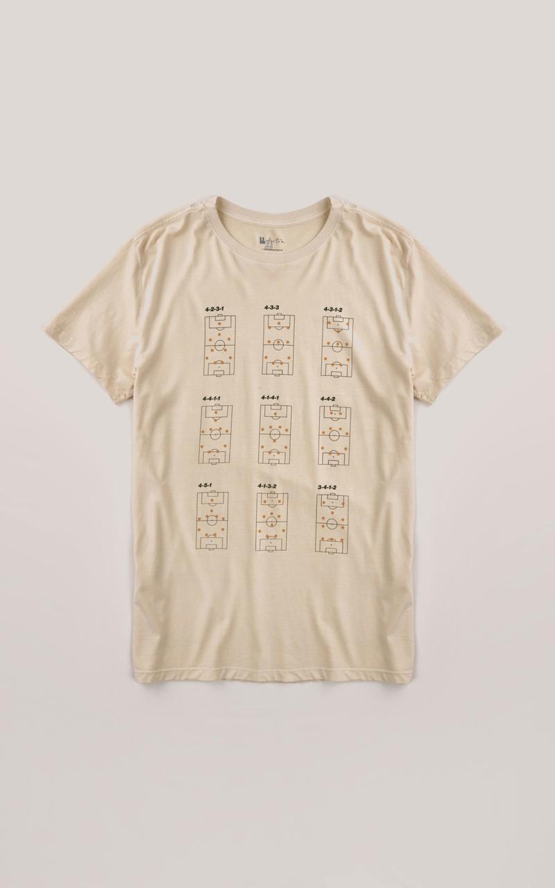 T-shirt Foxton Tatica- Baunilha