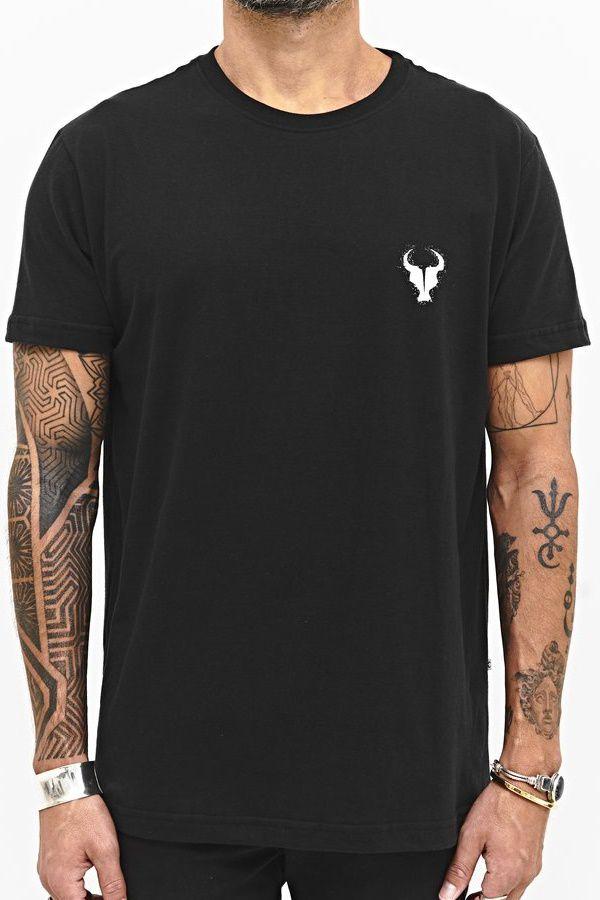 T-shirt Toro Estampada Dot - Preta