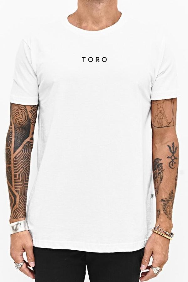 T-shirt Toro Spray Logotype - Branca
