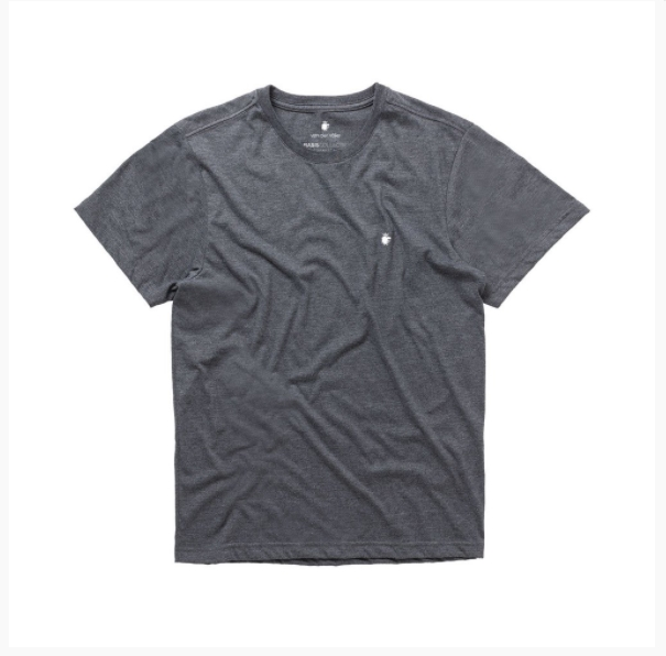 T-shirt Von Der Volke Basis Devore - Preto