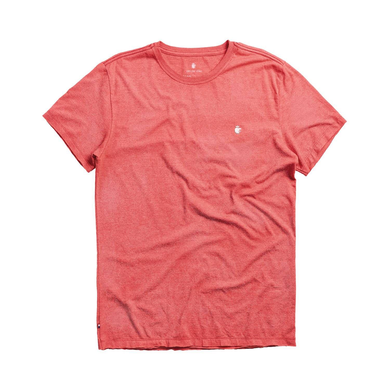T-shirt Von Der Volke Basis Devore - Vermelho