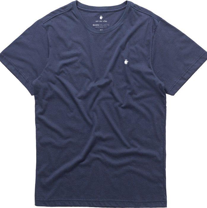 T-shirt Von Der Volke Basis Round - Azul Marinho
