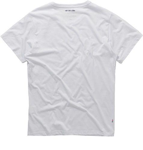 T-shirt Von Der Volke Basis Round - Branca