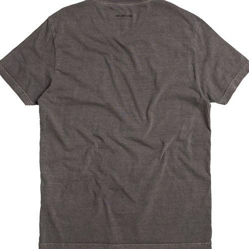 T-shirt Von Der Volke Basis Stone - Preta