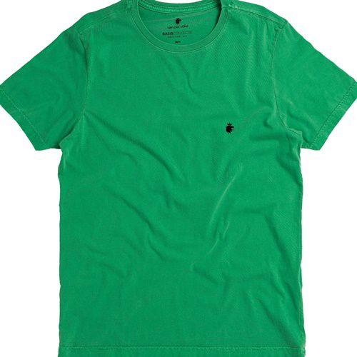 T-shirt Von Der Volke Basis Round - Verde