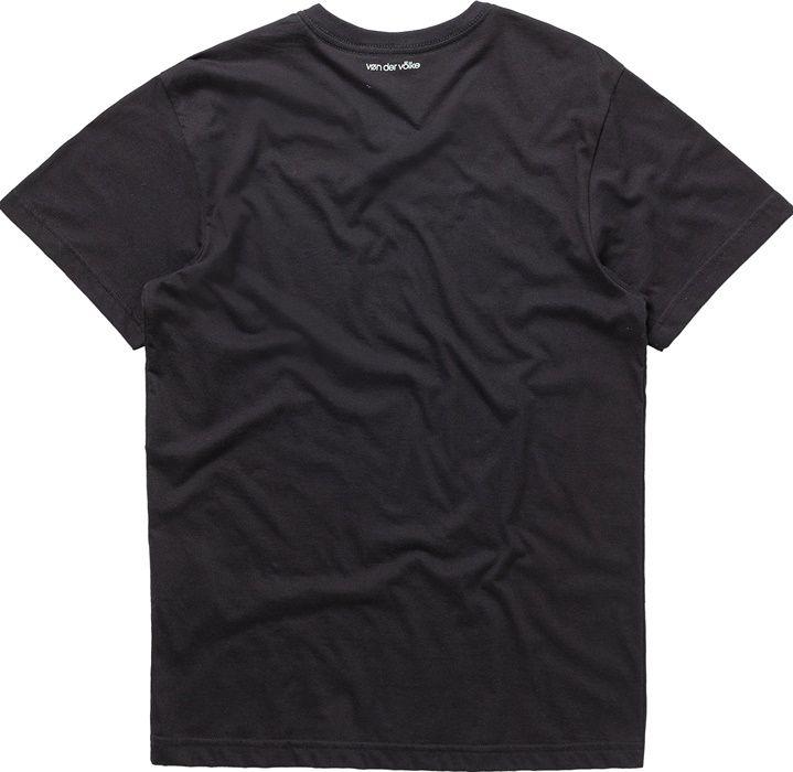 T-shirt Von Der Volke Basis V - Preta