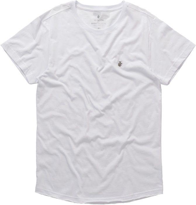 T-shirt Von Der Volke Basis Wave - Branca