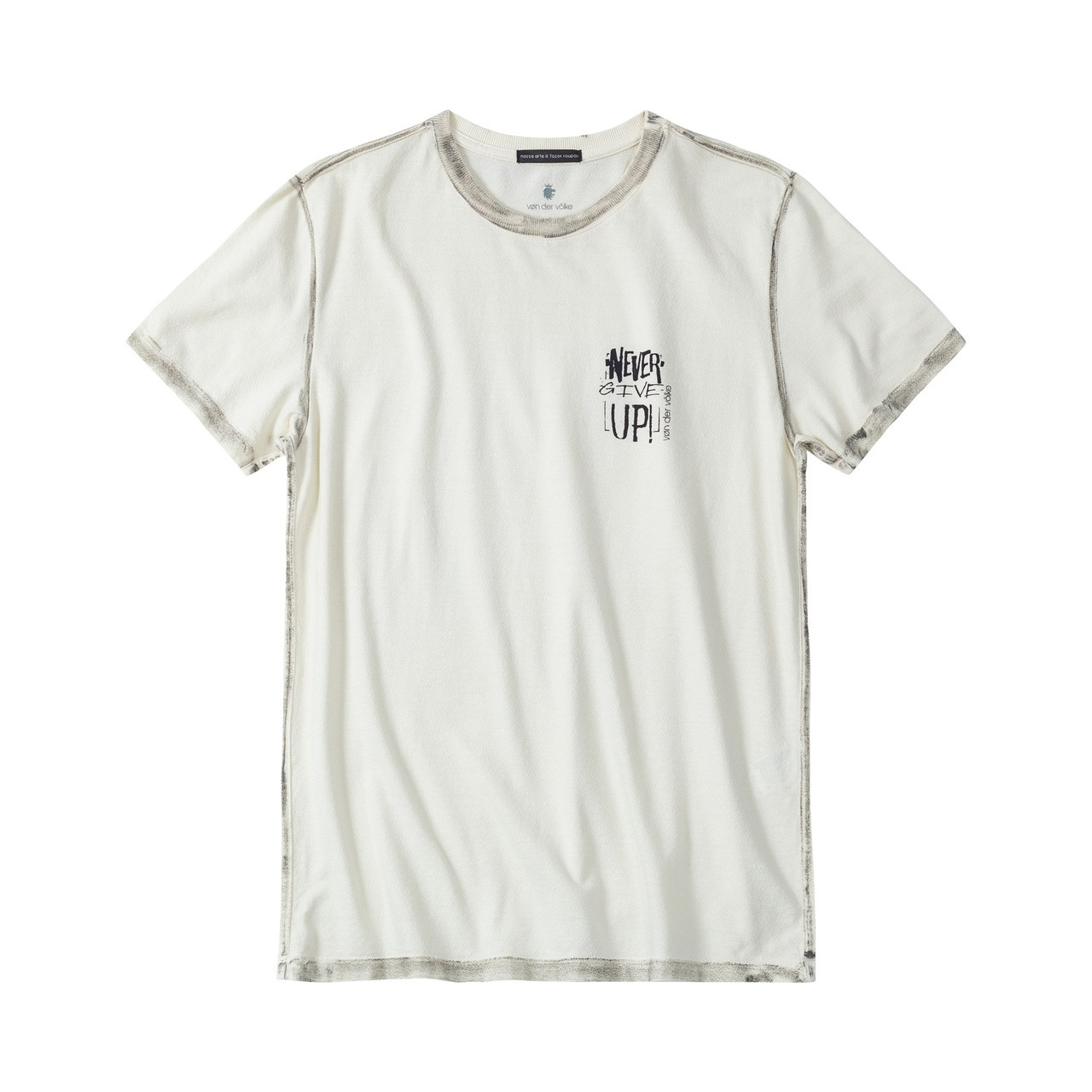 T-shirt Von Der Volke Borstel - Off White