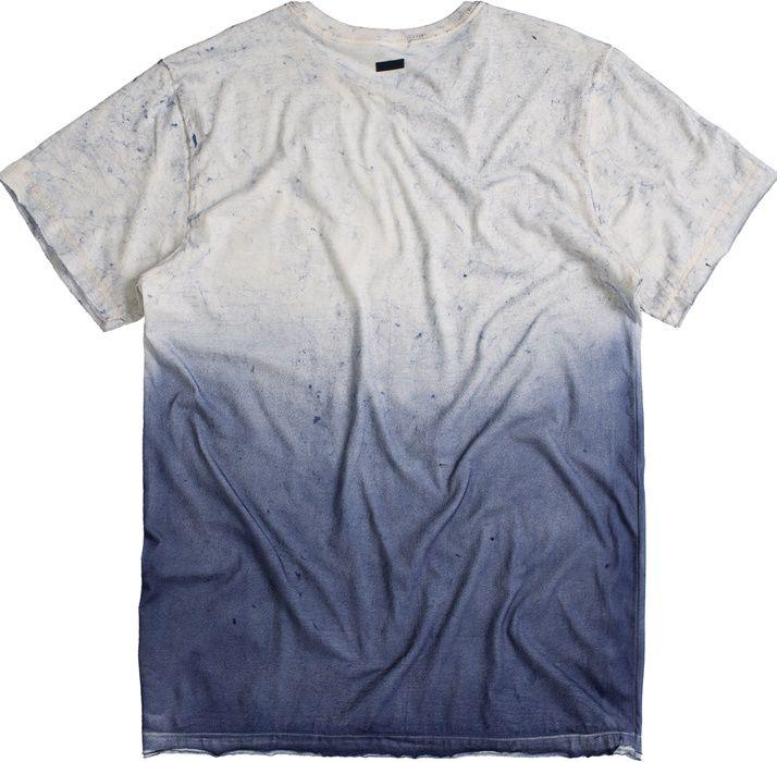 T-shirt Von Der Volke Concept Regen - Azul
