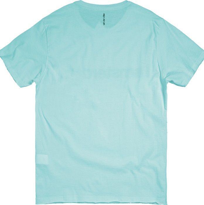 T-shirt Von Der Volke I Am Amsterdam - Turquesa