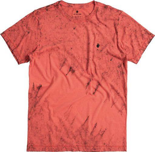 T-shirt Von Der Volke Koraal - Vermelha