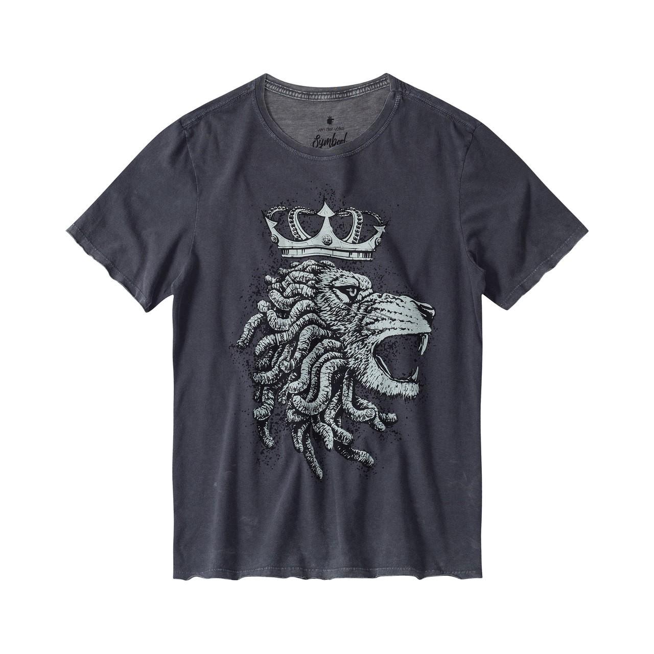 T-shirt Von Der Volke Lion King - Preto