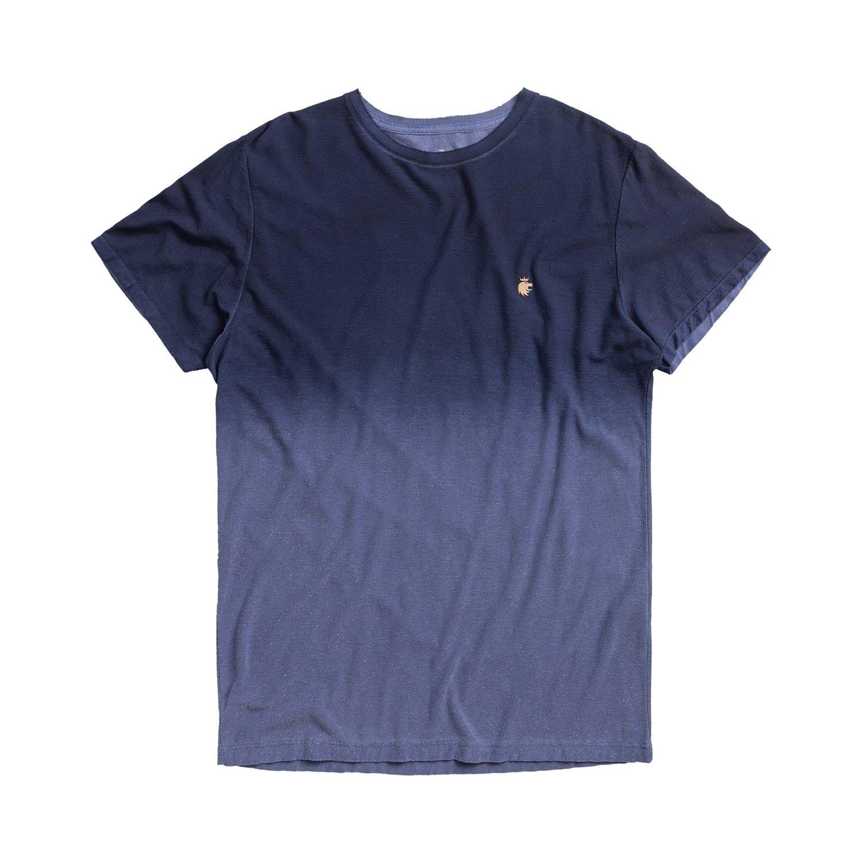 T-shirt Von Der Volke Spray Botone - Azul