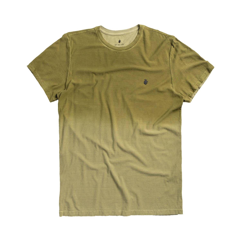 T-shirt Von Der Volke Spray Botone - Verde