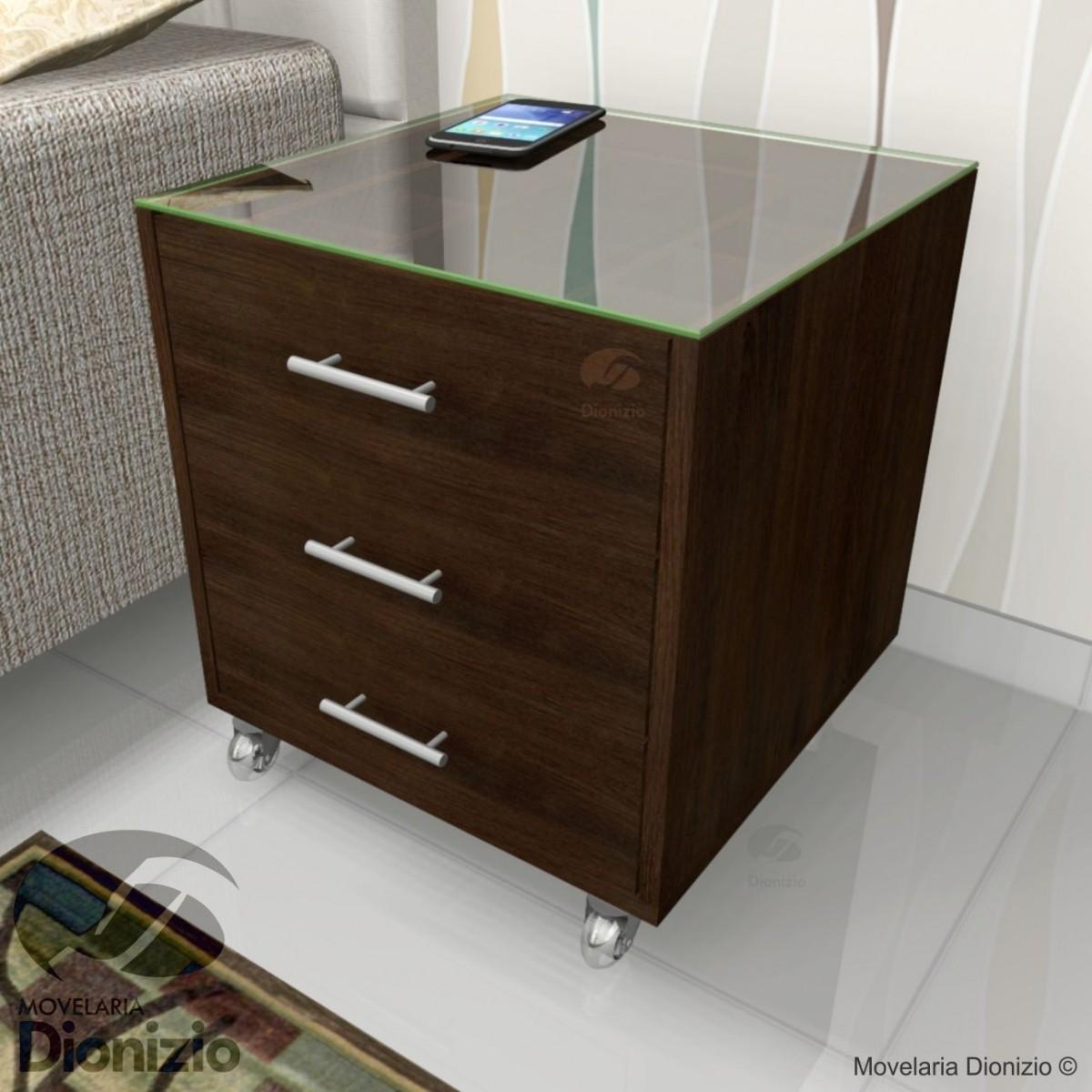 Aparador Zara Home ~ Criado Mudo Moderno Porta Joia 3 Gavetas Branco Cr05b R$ 890,00 em Mercado Livre