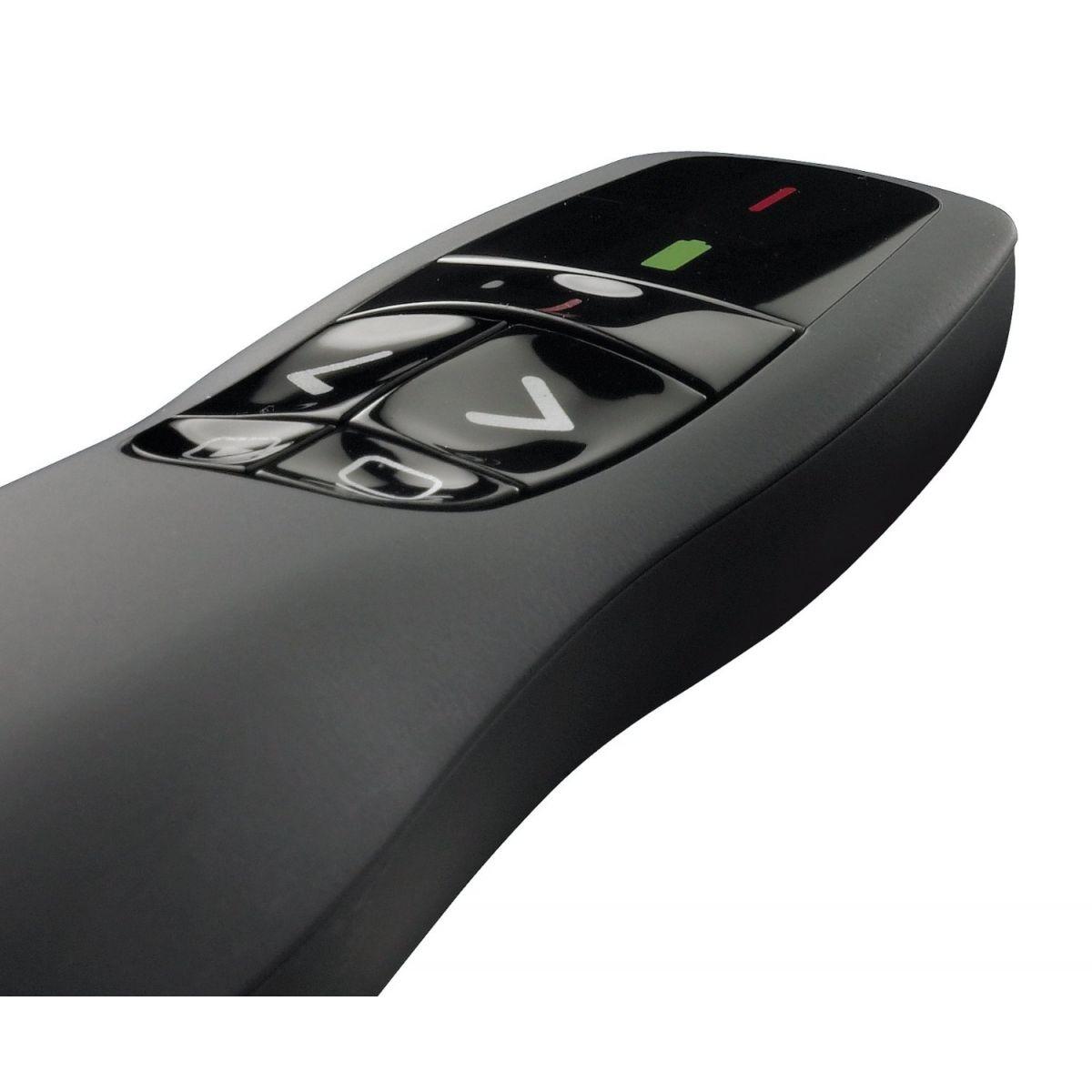 Apresentador Logitech Wireless Presenter R400 - 910-001354 / 910-001477