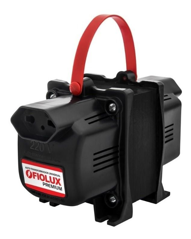 AutoTransformador Fiolux Premium 2000va Bivolt 110/127v E 220v