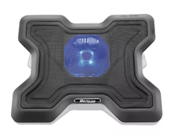 "Base Multilaser X-Cooler P/ Notebook até 15.6"" C/ Cooler 120x120 - AC123"