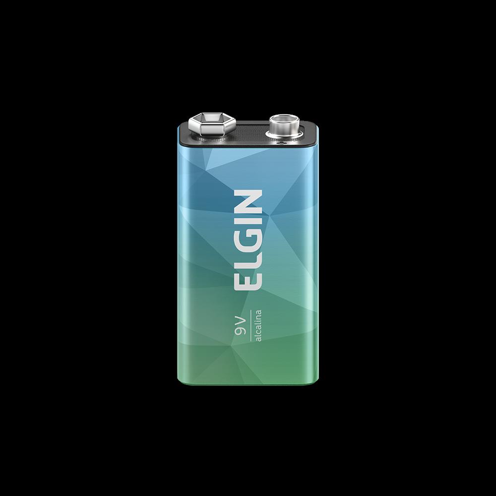 Bateria Alcalina Elgin 9v - 82158