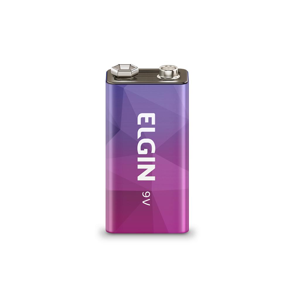 Bateria Recarregável Elgin 9 Volts 250 Mah - 82215