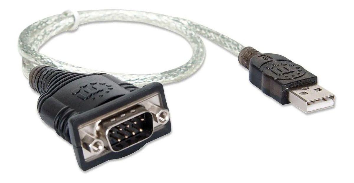 CABO CONVERSOR USB/SERIAL PRETO REF: 4009