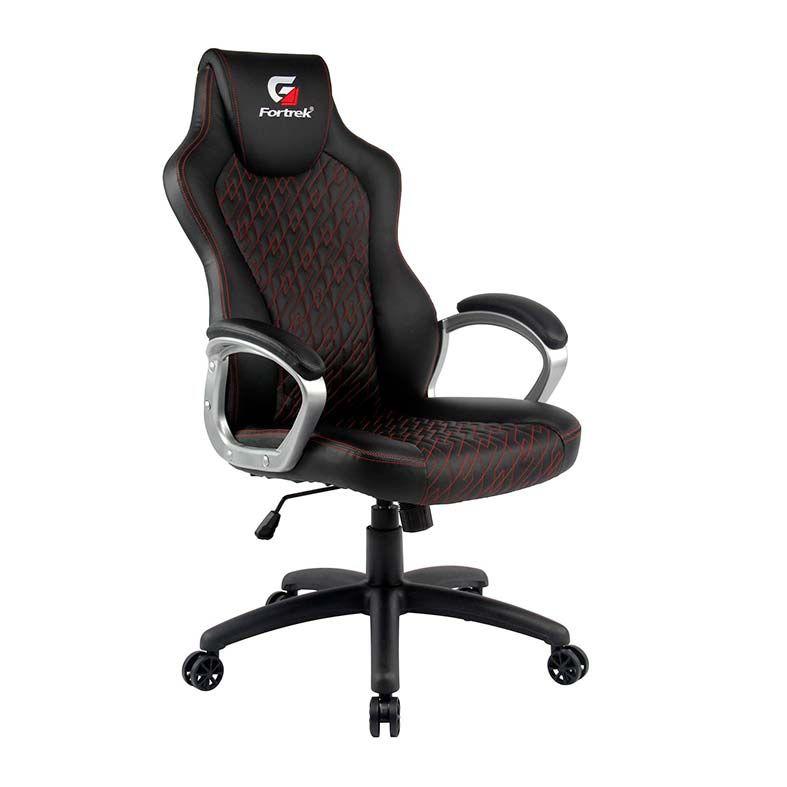 Cadeira Gamer FORTREK Blackfire - Preta/Vermelha