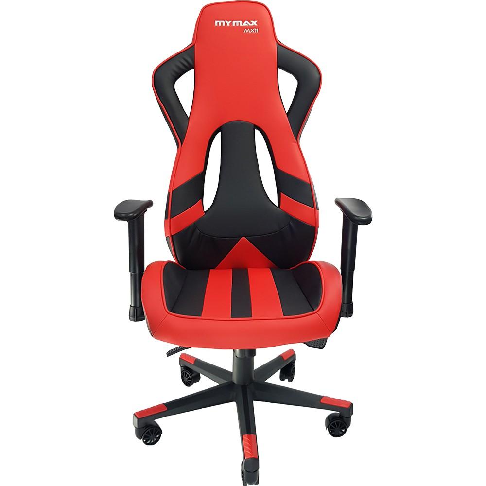 Cadeira Gamer MX11 Giratória Preto/Vermelho