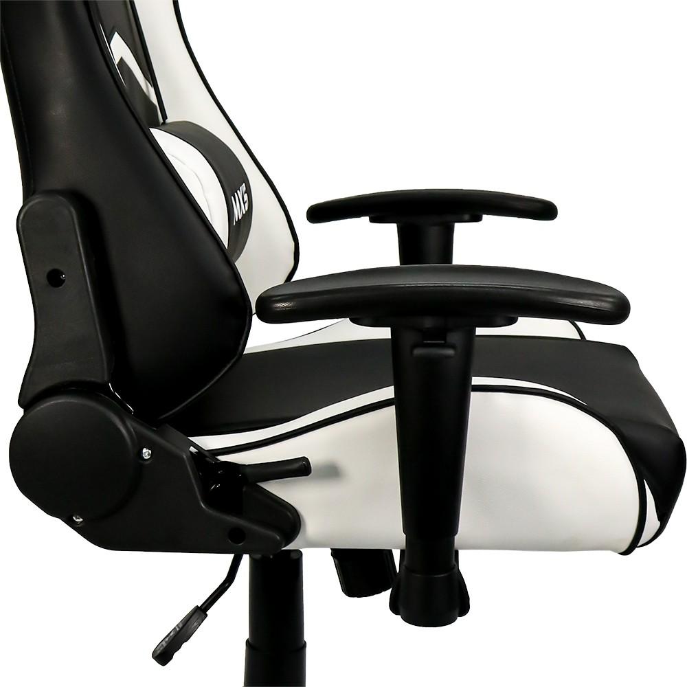 Cadeira Gamer MX5 Giratória Preto/Branco