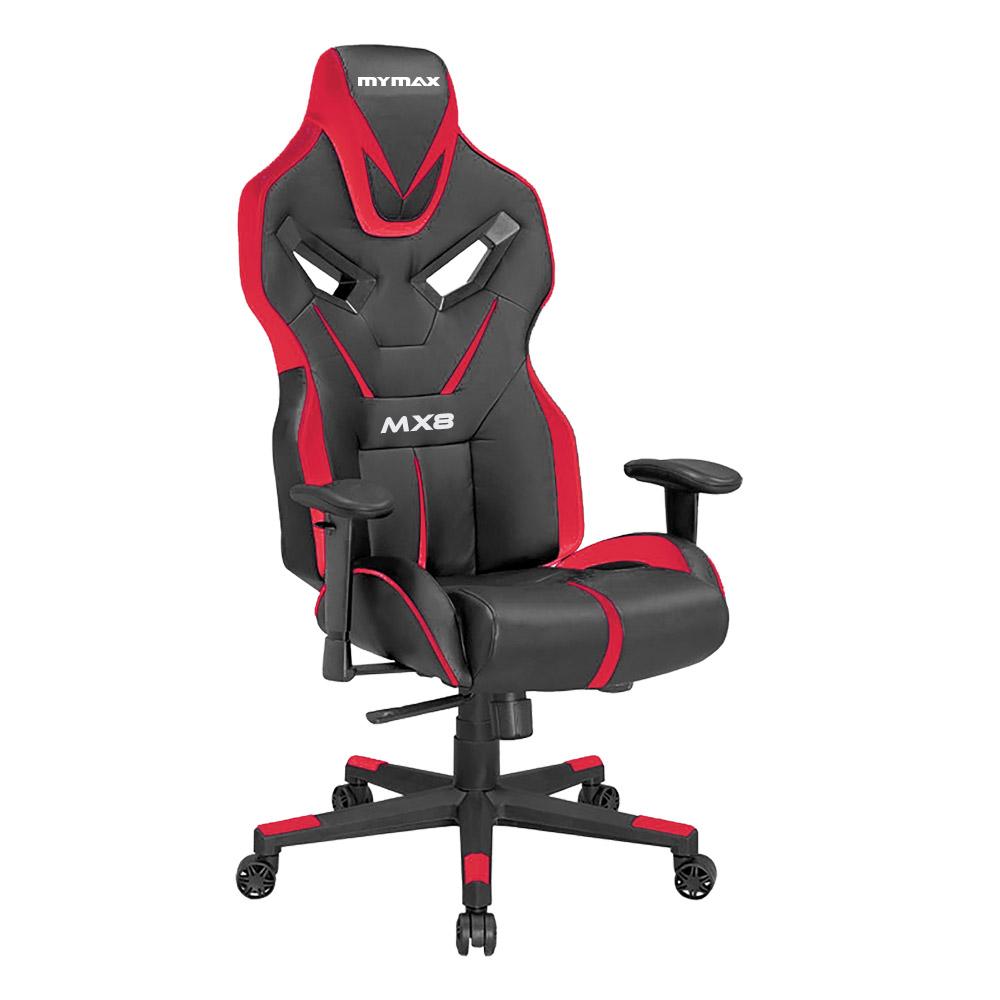 Cadeira Gamer MX8 Giratoria Preto/Vermelho