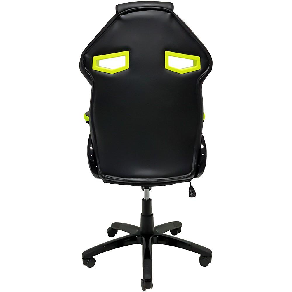 Cadeira Gamer Mymax MX1 Giratoria Preto/Verde