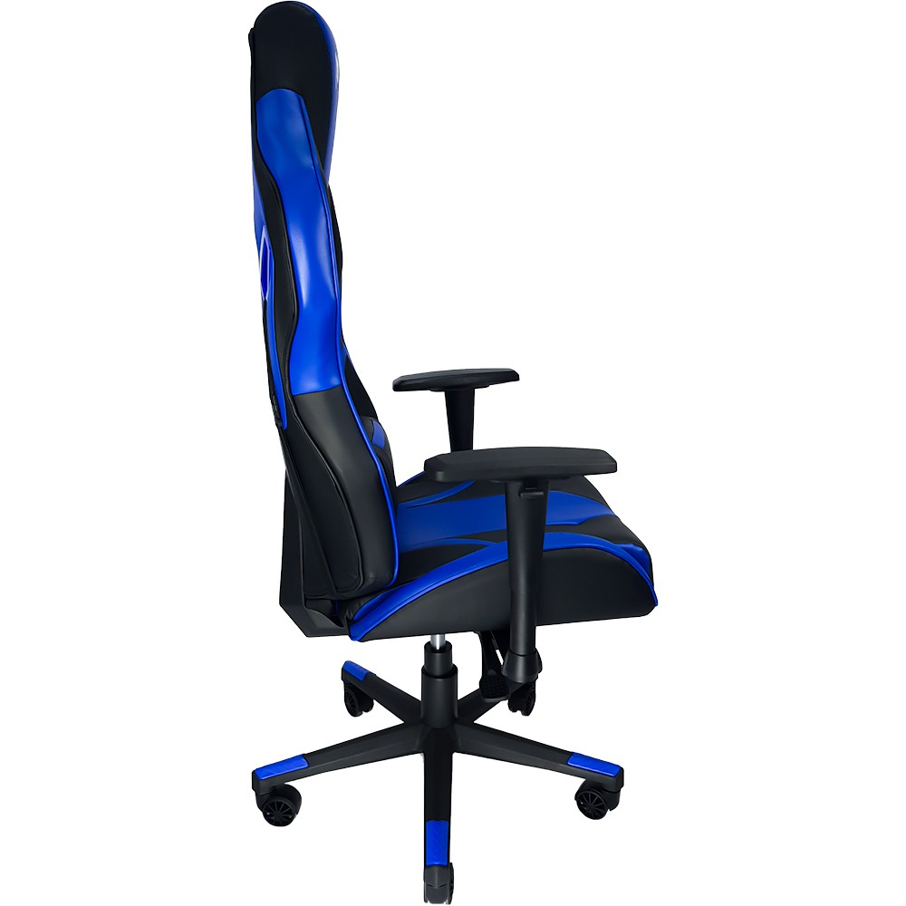 Cadeira Gamer Mymax MX9 Giratoria Cor Preto/Azul