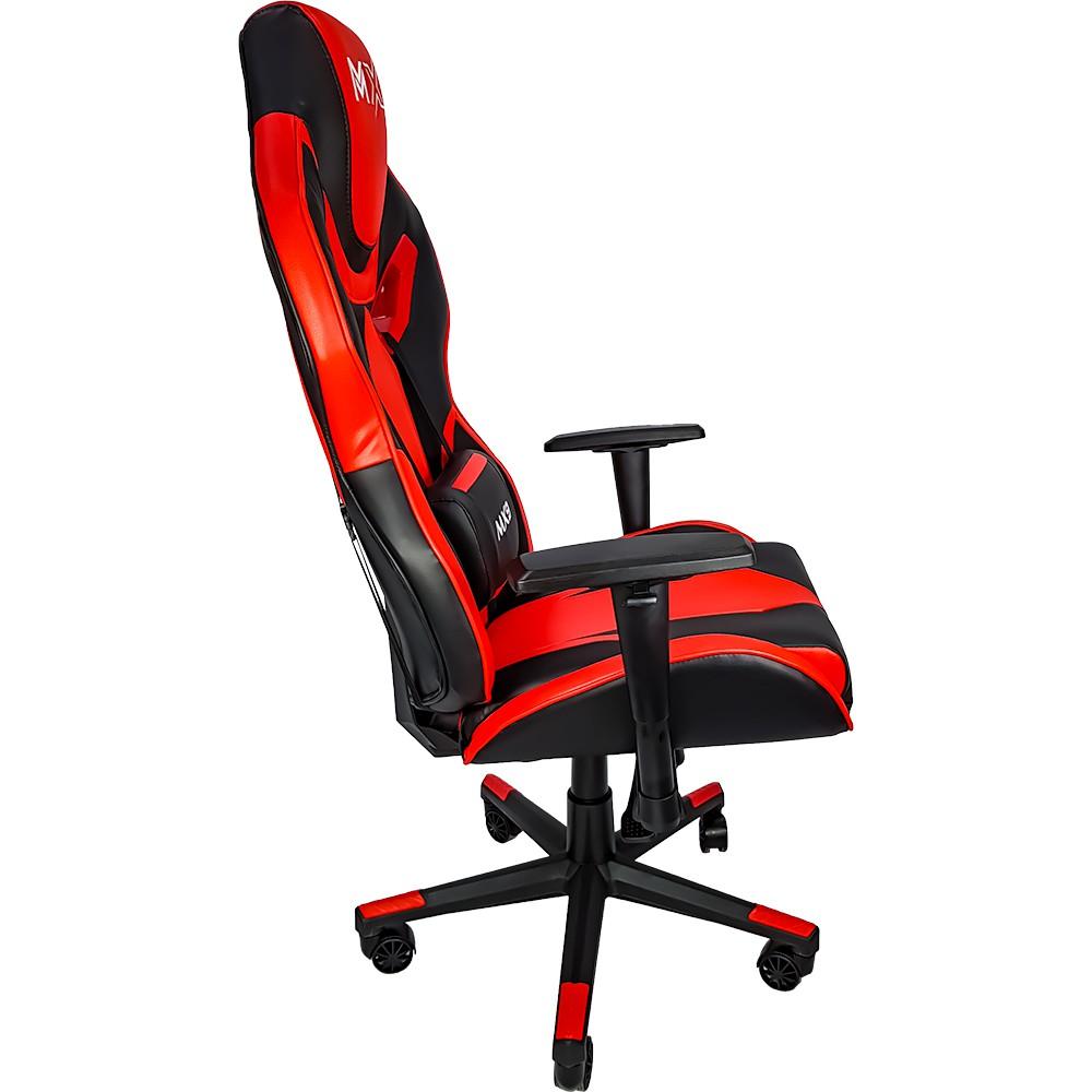 Cadeira Gamer Mymax MX9 Giratoria Cor Preto/Vermelho