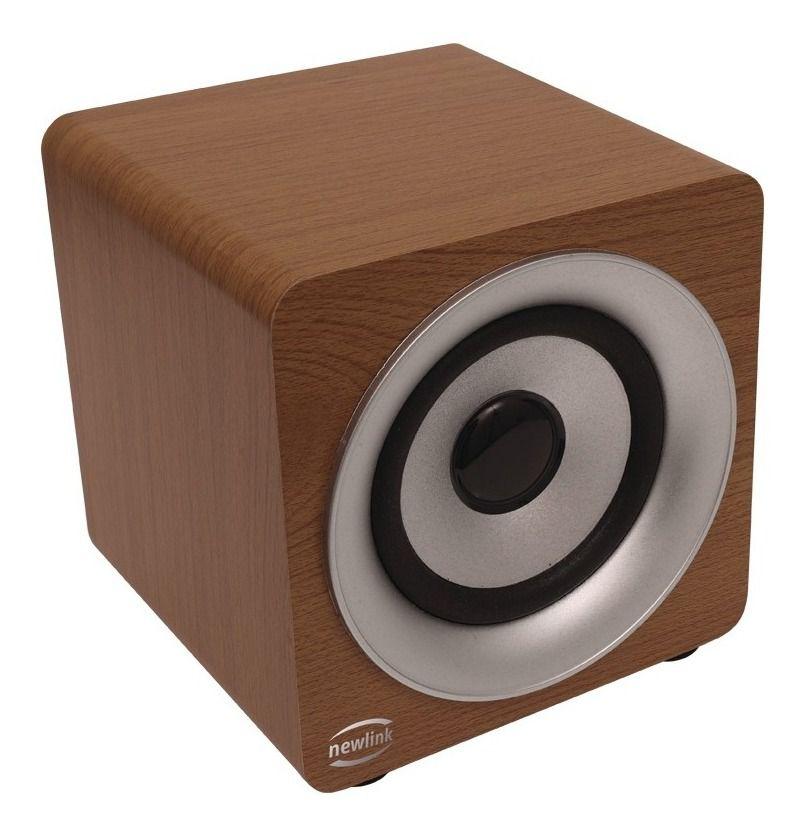 Caixa De Som Bluetooth Speaker Pine - Sp113 Newlink