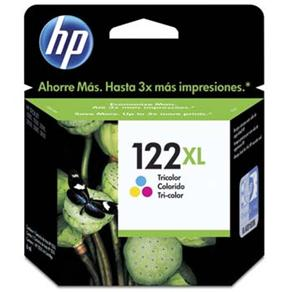 Cartucho de Tinta HP 122 XL Tricolor - Alto Volume - CH564HB