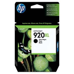 Cartucho de Tinta HP 920 XL Preto - Alto Volume - CD975AL