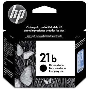 Cartucho de Tinta HP HP21b, Preto - C9351BB