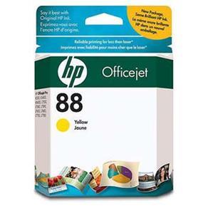 Cartucho de Tinta HP OfficeJet 88 Amarelo - C9388AL