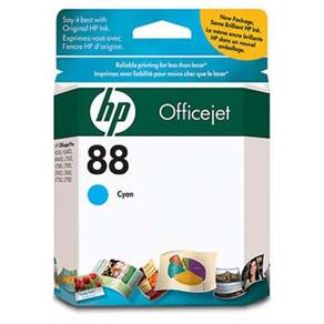 Cartucho de Tinta HP OfficeJet 88 Ciano - C9386AL