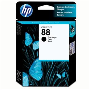 Cartucho de Tinta HP Officejet 88 Preto - C9385AL