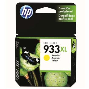Cartucho de Tinta HP Officejet 933XL Amarelo - CN056AL